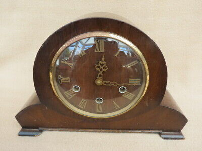 Vintage Smiths Westminster Chime Mantel Clock For Tlc
