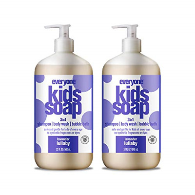 Everyone 3-in-1 Soap for Every Kid Safe, Gentle and Natural Shampoo, Body Wash,