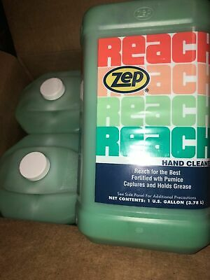 Zep Reach Hand Cleaner 4 Gallon Case Free Shipping