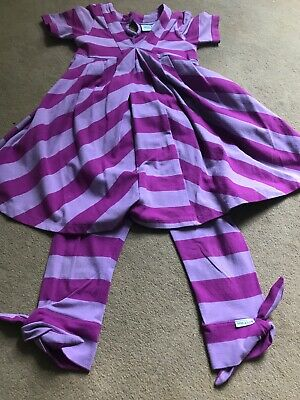 MINI  A TURE  Copenhagen  Little Girls Outfit Age 4 Lovely On , Purple/lilac