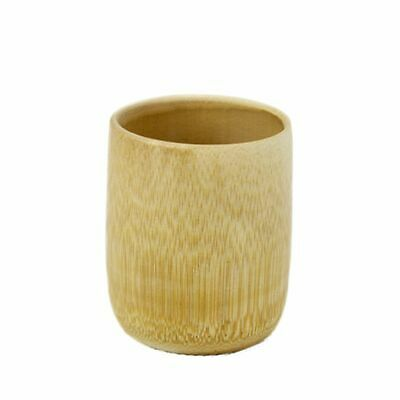 Odorless Bamboo Cup Handmade Work Environment Protect Water Tea Accessories LP