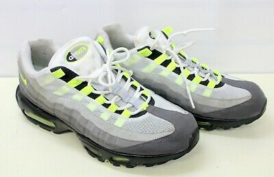 competitive price c8a91 3c363 Nike Air Max 95 OG Neon Green Cool Grey Black 2015 Mens Size 12 554970-