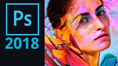 Adobe Photoshop CC 2018 per 32 e 64 bit PREATTIVATO E IN ITALIANO - NO 2019