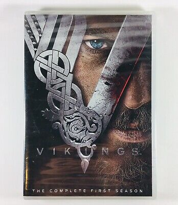 Vikings: The Complete First Season (DVD, 2013, 3-Disc Set) SEALED!