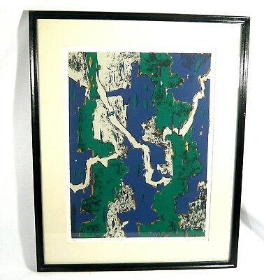 Rare 1974 EARLY Keith Hiscock Listed Canadian ARTIST Ltd Edition Print 3/20