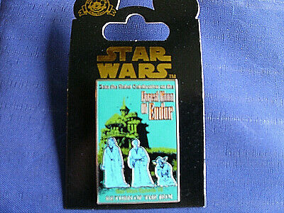 Disney* STAR WARS - FOREST MOON of ENDOR *POSTER SERIES* New on Card Trading Pin