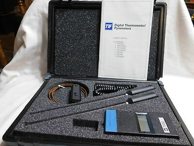 TIF 7000 Digital Thermometer Pyrometer with Probes
