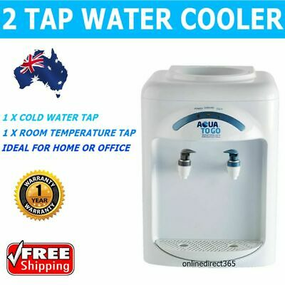 Water Dispenser Bench Top Cooler Home Office Compact Thermo Electric Cooling NEW