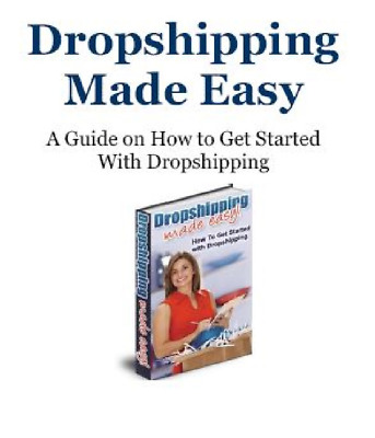 Drop shipping Made Easy PDF With Resell