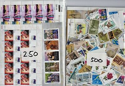 250 X $2 ( 3 Stamps )  Australia  Postage Stamps Mint Full Gum Face Value $500
