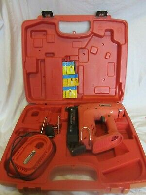 Tacwise Ranger 40 Duo Nail Gun With Charger, Nails, Staples + Case No Batteries