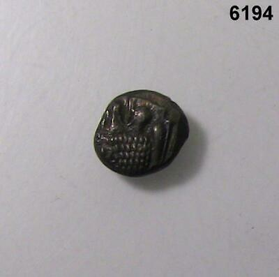 Ancient Greek Ionia Miletos 6Th Century Bc Silver 1/12 Stater 10.5 Mm Dia. #6194