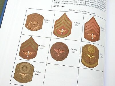 """""""Us Army Soldiers And Their Chevrons"""" Civil War Ww1 Ww2 Patch Reference Book"""