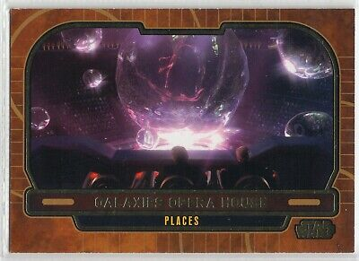 2013 Star Wars Galactic Files Gold Parallel Card #648 Galaxies Opera House 04/10