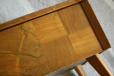 Vintage Sewing Box ~ Arnold Of Marlow - Walnut Marquetry