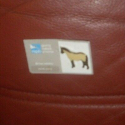 RSPB   giving nature a home pin badge - Konik Pony -. British Wildlife