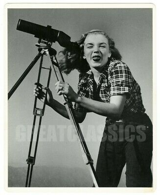 Marilyn Monroe 1946 Young Beauty Vintage Dblwt Photograph Joseph Jasgur