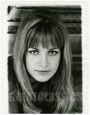Catherine Spaak Empty Canvas 1963 Oversize Vintage Dblwt Photograph Peter Basch