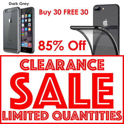 CLEARANCE SALE BUY 30 FREE 30 Crystal Clear iPhone 7 Plus 8 Plus Joblot NEW UK