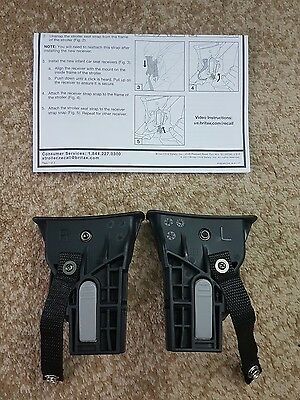 Britax B-Agile Bob Stroller Travel System Receivers Kit H1 Adapters  NEW