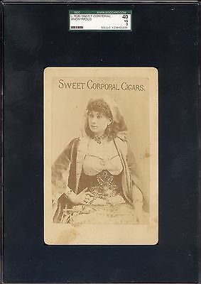 C1890 Sweet Corporal Caporal Cigars Cigarettes Cabinet Photo Card Sgc 40 Rare