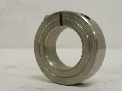 """175716 New-No Box, MFG- 1C-100-S One-Piece Split Clamping Collar, SS, Size: 1"""""""