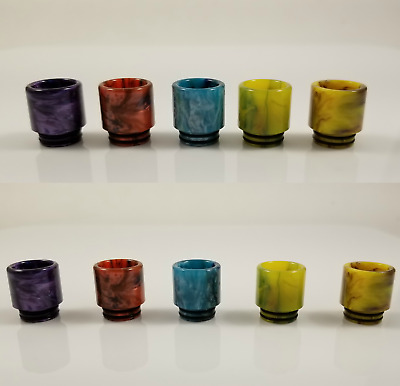 Wide Epoxy Resin Drip Tip Mouthpiece For SMOK TFV8 Cloud Beast Tank Kennedy 25