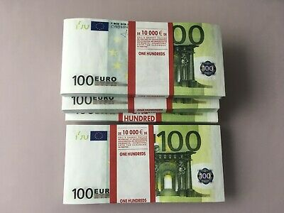 100 Euro Fake Money Joke Prank