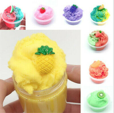 Tropical Twist Cloud Slime Scented Charm Mud Stress Relief Kids Clay Toy