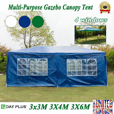 DayPlus 3X3/4/6M Outdoor Tent Marquee Awning Canopy Party Camping Wedding Gazebo