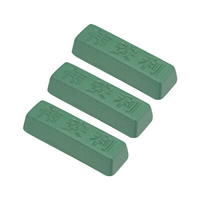 Polishing Compound Kits Green Buffing Sharpening for Metal 110x35x28mm 3 Pcs