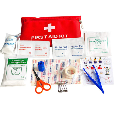 39 Piece First Aid Emergency Kit Emergency Survival Camping Travel Car Cycling