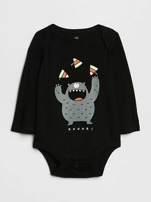 NWT BABY GAP BOYS SHIRT TOP  bodysuit  halloween monster candy   you pick size