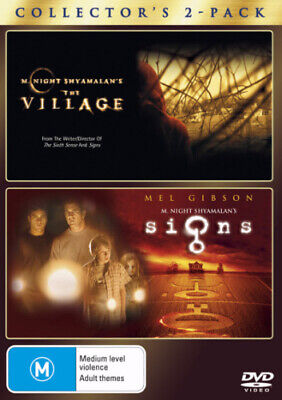 The Village / Signs (2004) [New Dvd]