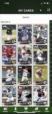 2019 Topps Bunt Complete Gold Base Set Of 300 Trout Yelich Acuna Harper Baez +++