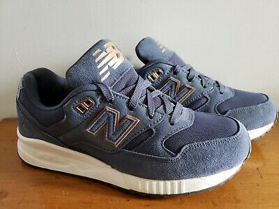 release date: 04171 8ad91 WOMENS NEW BALANCE 530 Encap Blue Athletic Running Sneakers Size 7 B -  Brand New
