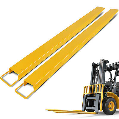 96*5 Pallet Fork Extensions for Forklifts Welding No Tools Lift Truck