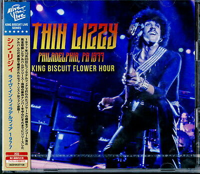 THIN LIZZY WILD One+ Live Japan only DBL CD Gary Moore