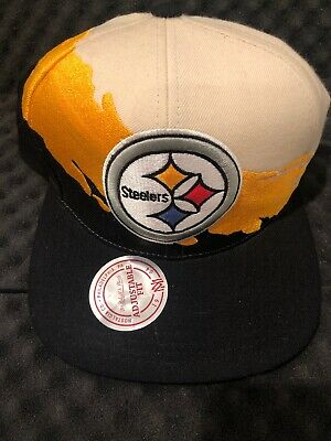 1d3dcd9a PITTSBURGH STEELERS RETRO Classic Mitchell & Ness Sharktooth ...
