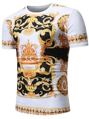 677db25e8 HOT Men's 9GUCCY2019 Mickey T-Shirt Size S-2XL clothing trend 2019. $13.69  Buy It Now 21d 14h. See Details. Mens Baroque Angel Print Short Sleeve T  Shirt ...