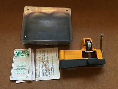 CIR SUPER 8MM Guillotine Film Adhesive Tape Splicer Made In
