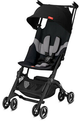 GB Pockit+ All-Terrain Lightweight Ultra Compact Fold Baby Stroller Velvet Black