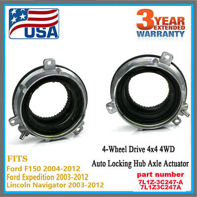 AUTO-LOCKING HUB 4 Wheel Drive Actuator Pair fit Ford F150
