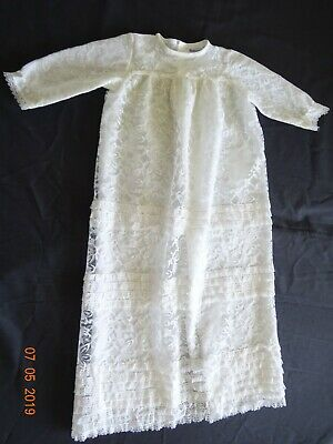 Mothercare vintage  christening gown suit REborn Collector