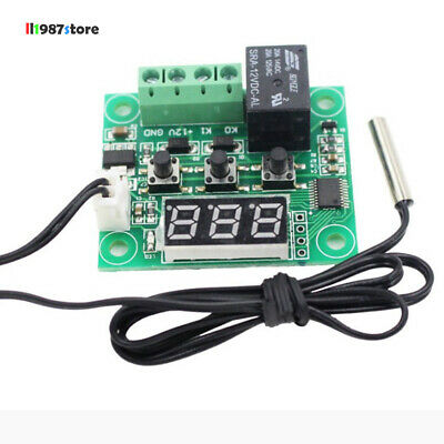 DC 12V W1209 Digital Display Thermostat Temperature Controller Switch Board+Case