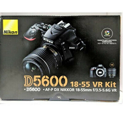 Nikon D5600 AF-P DX 18-55mm f/3.5-5.6G VR Black ( Multi) No extra cost