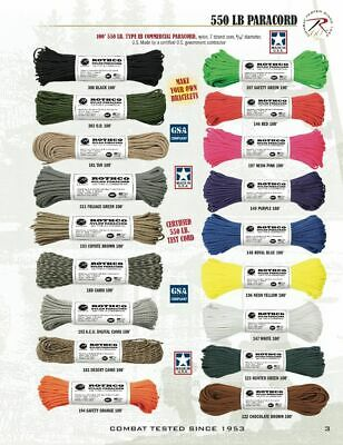 Rothco Nylon Paracord Type III 550 LB 100FT - MADE IN USA