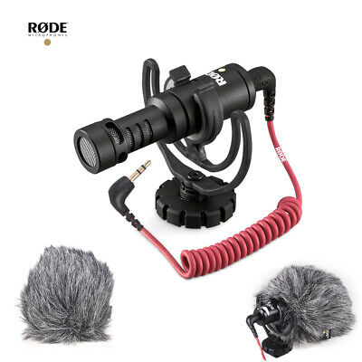 RODE VideoMicro Compact On-Camera Cardioid Directional Microphone with O5W5