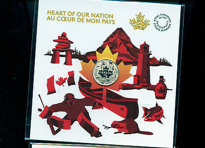 2017 Heart of Our Nation $3 Pure Silver Coin Canada's 150th BL01c