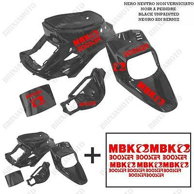 Fairings Neutral Black Stickers Red Iron-On MBK Booster Spirit' 88'/03